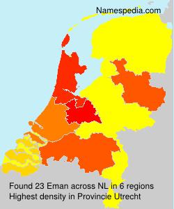 Surname Eman in Netherlands