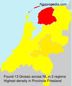 Surname Grosso in Netherlands