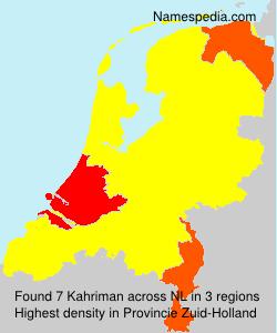 Kahriman - Netherlands