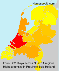 Surname Kaya in Netherlands