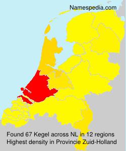 Familiennamen Kegel - Netherlands