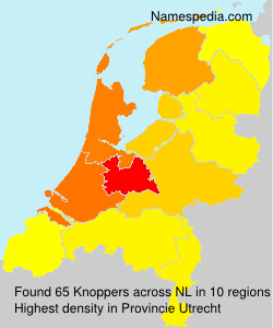 Surname Knoppers in Netherlands