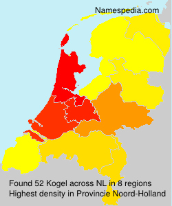 Surname Kogel in Netherlands