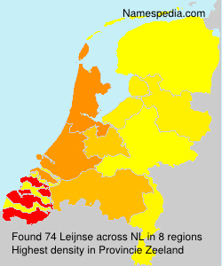 Familiennamen Leijnse - Netherlands
