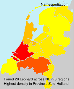 Surname Leonard in Netherlands