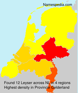 Surname Leyser in Netherlands