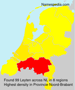 Surname Leyten in Netherlands