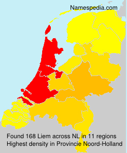Surname Liem in Netherlands