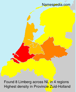 Surname Limberg in Netherlands