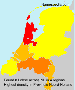 Surname Lohse in Netherlands