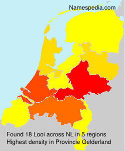 Surname Looi in Netherlands