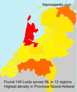 Surname Loots in Netherlands