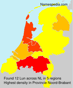 Surname Lun in Netherlands