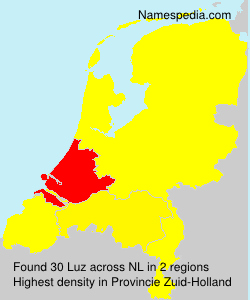 Surname Luz in Netherlands