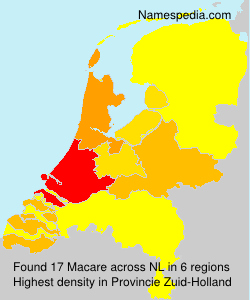 Surname Macare in Netherlands