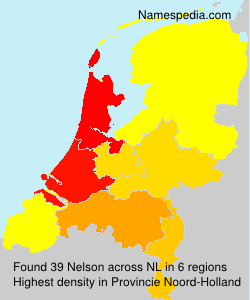 Surname Nelson in Netherlands
