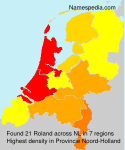 Surname Roland in Netherlands