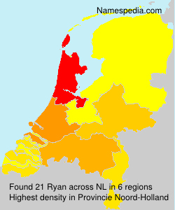 Surname Ryan in Netherlands