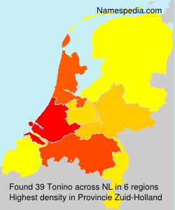 Familiennamen Tonino - Netherlands