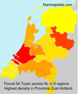 Surname Turan in Netherlands