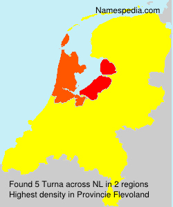 Surname Turna in Netherlands