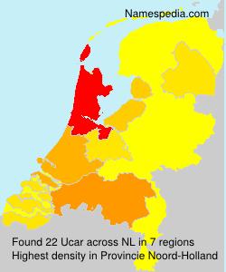 Surname Ucar in Netherlands
