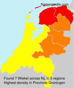 Familiennamen Wiekel - Netherlands