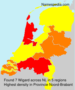 Surname Wigard in Netherlands