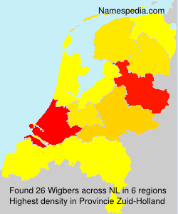 Surname Wigbers in Netherlands