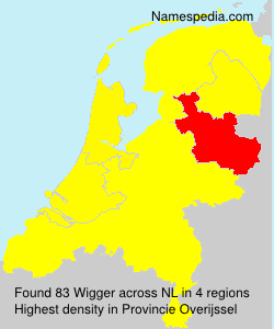 Surname Wigger in Netherlands