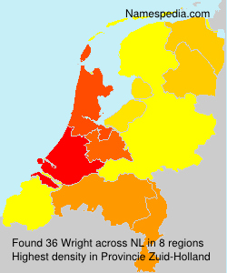 Surname Wright in Netherlands