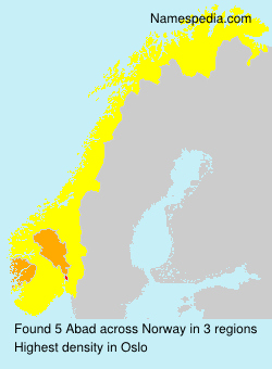 Surname Abad in Norway