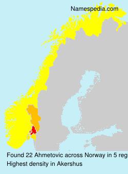 Ahmetovic - Norway