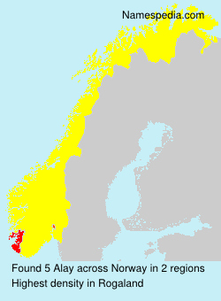 Surname Alay in Norway