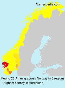 Arnevig