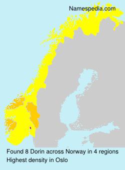 Surname Dorin in Norway