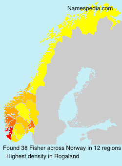 Surname Fisher in Norway