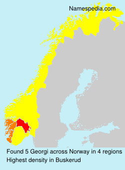 Surname Georgi in Norway