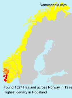 Haaland - Norway