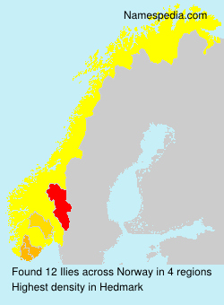 Surname Ilies in Norway