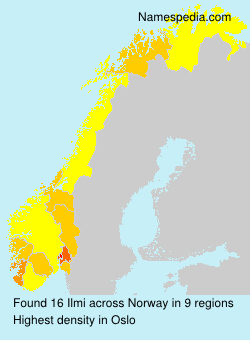 Surname Ilmi in Norway