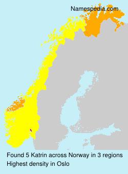 Familiennamen Katrin - Norway
