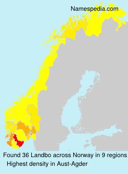 Familiennamen Landbo - Norway
