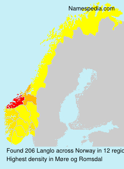 Surname Langlo in Norway