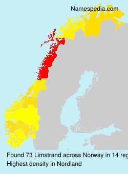 Surname Limstrand in Norway
