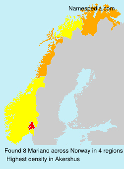 Surname Mariano in Norway