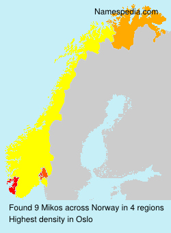 Surname Mikos in Norway