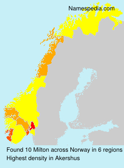 Surname Milton in Norway
