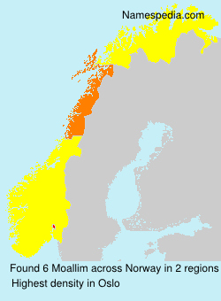 Surname Moallim in Norway