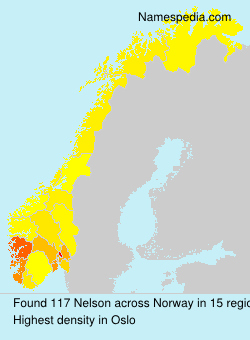 Surname Nelson in Norway